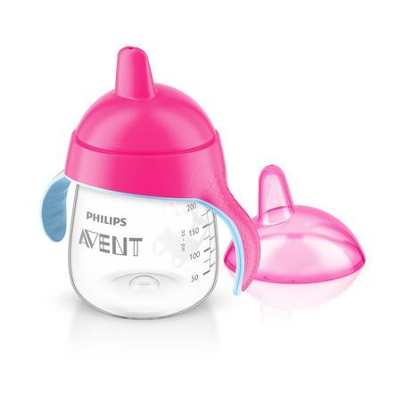Philips AVENT SCF753/07 Hrneček s pítkem 260 ml pink