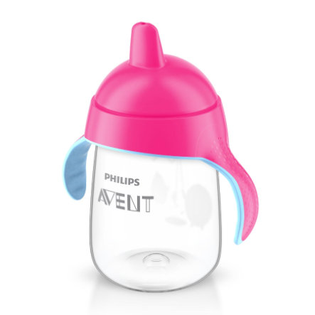 Philips AVENT Tasse à bec souple, rose, 340 ml SCF755/07