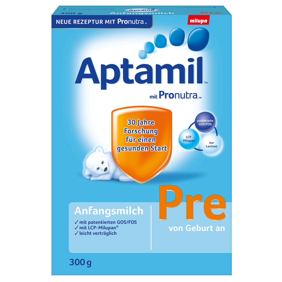 Aptamil Pre Infant Formula with Pronutra Starter Pack 8x300g