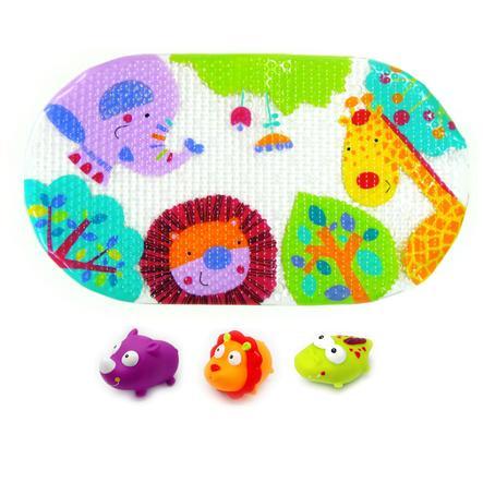 knorr® toys escabbo® set di tappetini da bagno escabbo Jungle