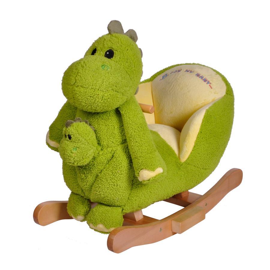 KNORRTOYS Gungdjur - Dino Herbert med ljud inkl handdocka