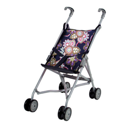 KNORRYTOYS Puppenbuggy Sim - blue flowers