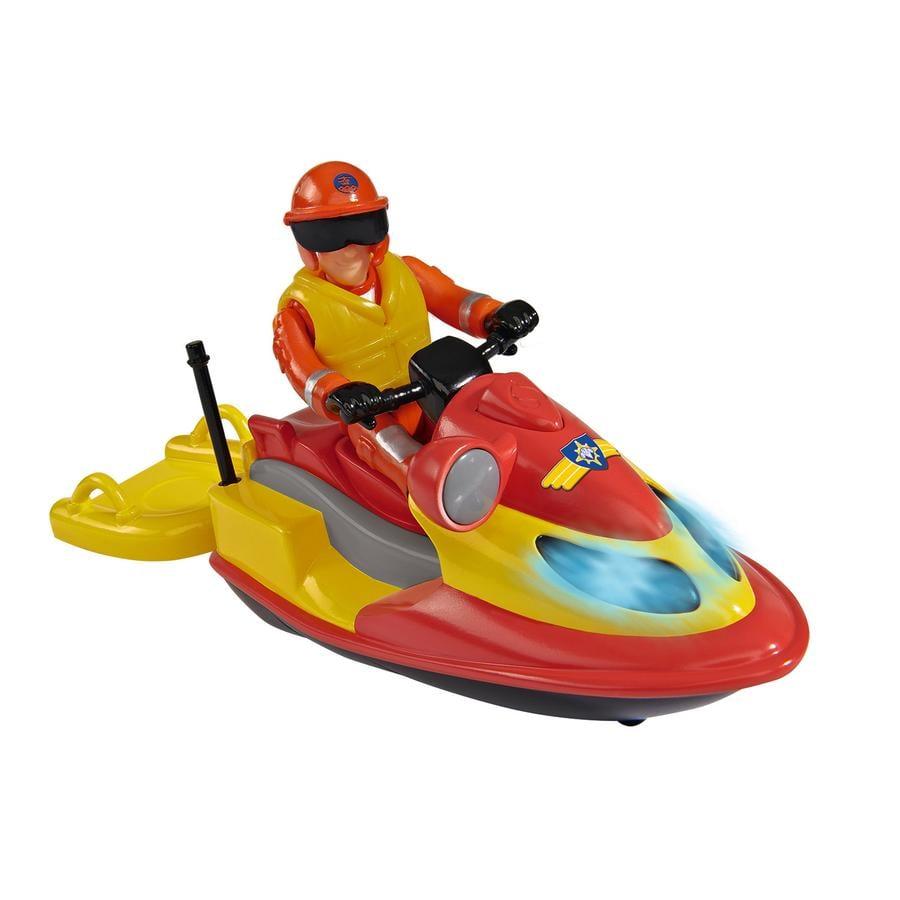 SIMBA Brandweerman Sam - Jet ski met figuur