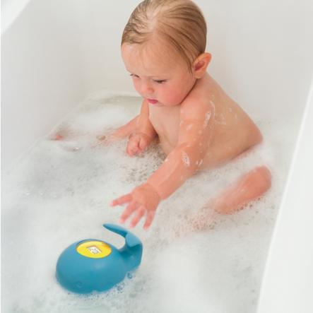 SKIP HOP Moby Termómetro de baño flotante con pantalla LED