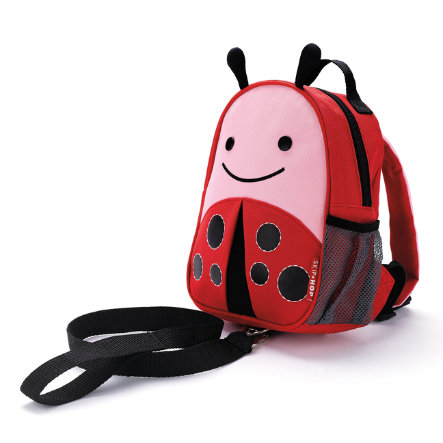 SKIP HOP Mini Backpack with Rein Zoo Let Ladybug