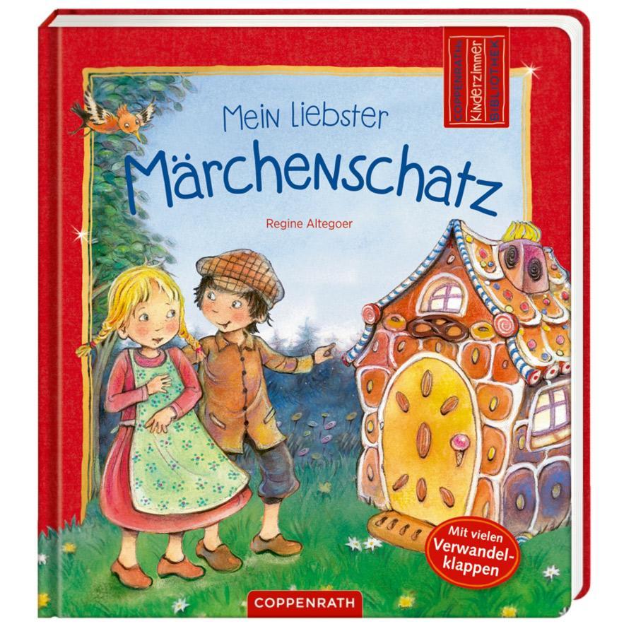 COPPENRATH Kinderzimmer-Bibliothek: Mein liebster Märchenschatz