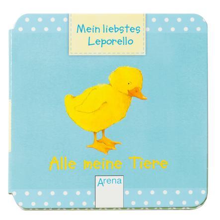 ARENA - Mein liebstes Leporello. Alle meine Tiere