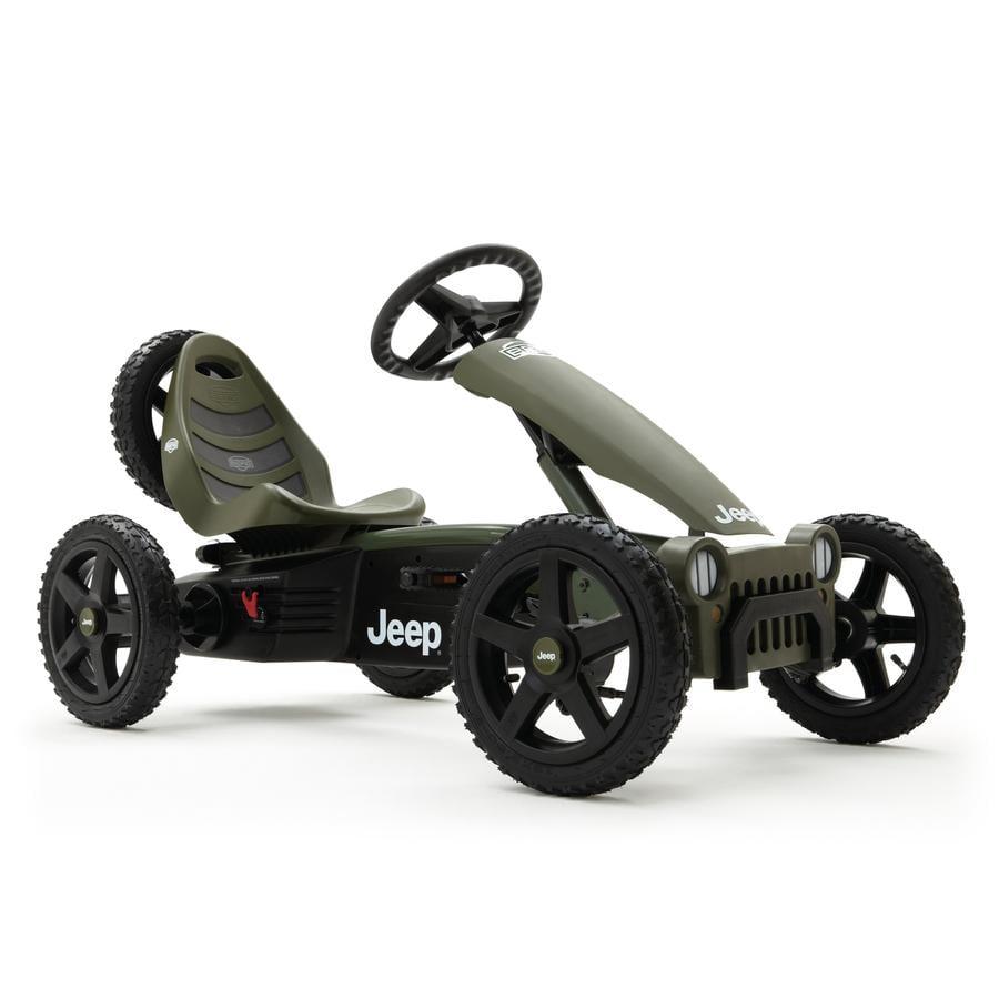 BERG Kart à pédales enfant Jeep® Adventure
