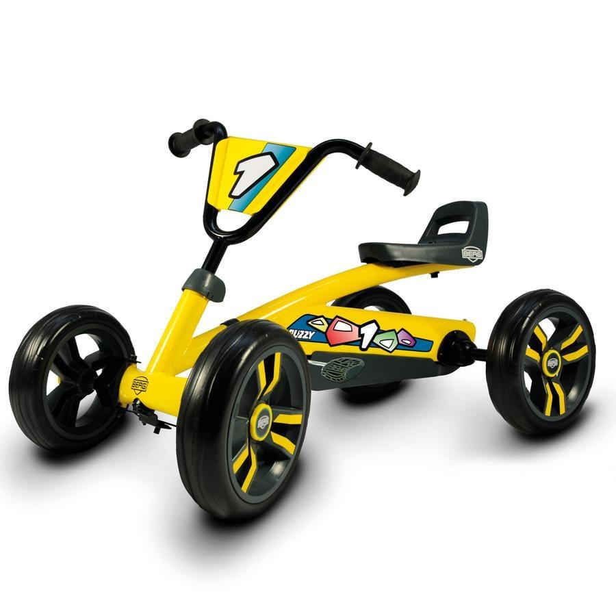 BERGTOYS Go-Kart Buzzy se šlapkami