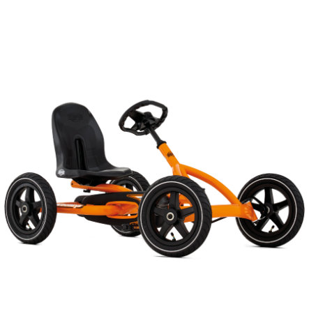BERGTOYS Kart à pédales Buddy Orange