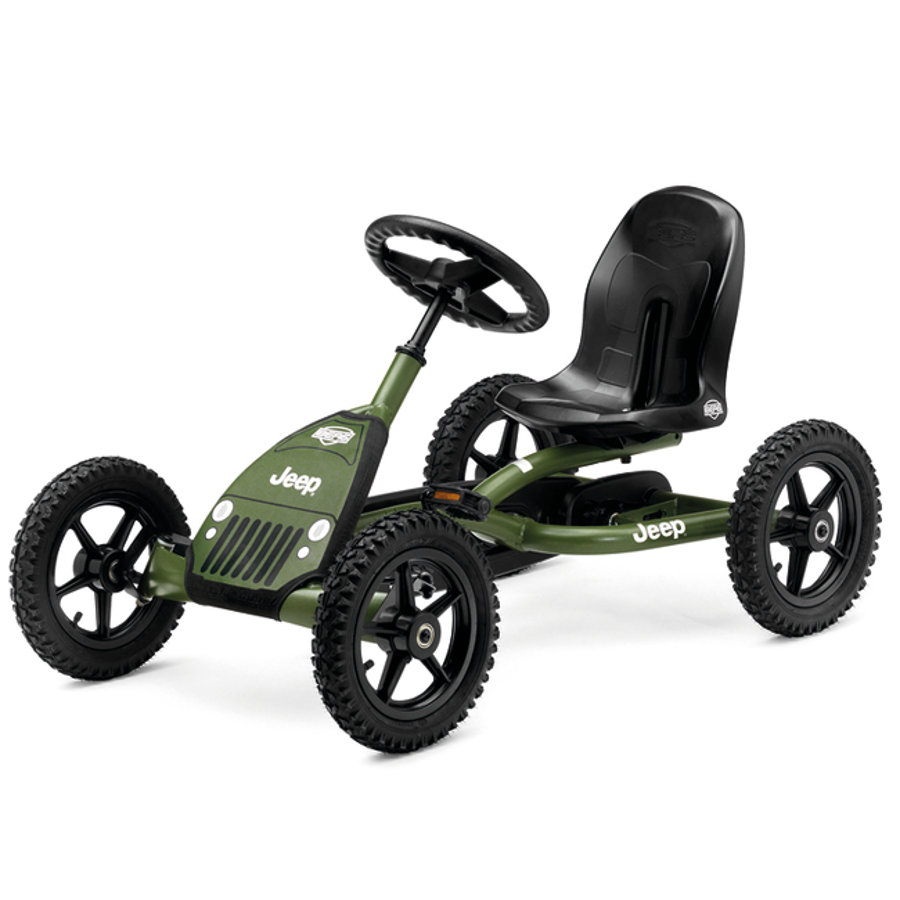 BERGTOYS Pedal Go-Kart Jeep Junior