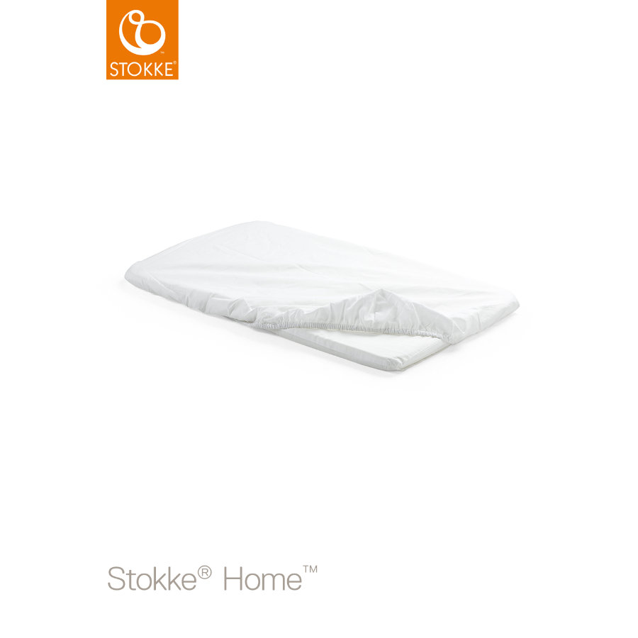 STOKKE® Home™ Cradle Fit Sheet 2p White