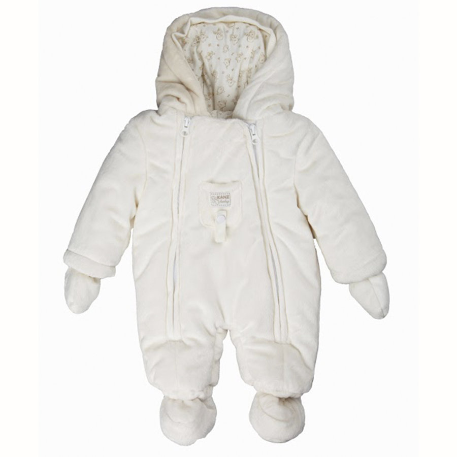 KANZ Baby Kombinezon pluszowy Teddy snow white