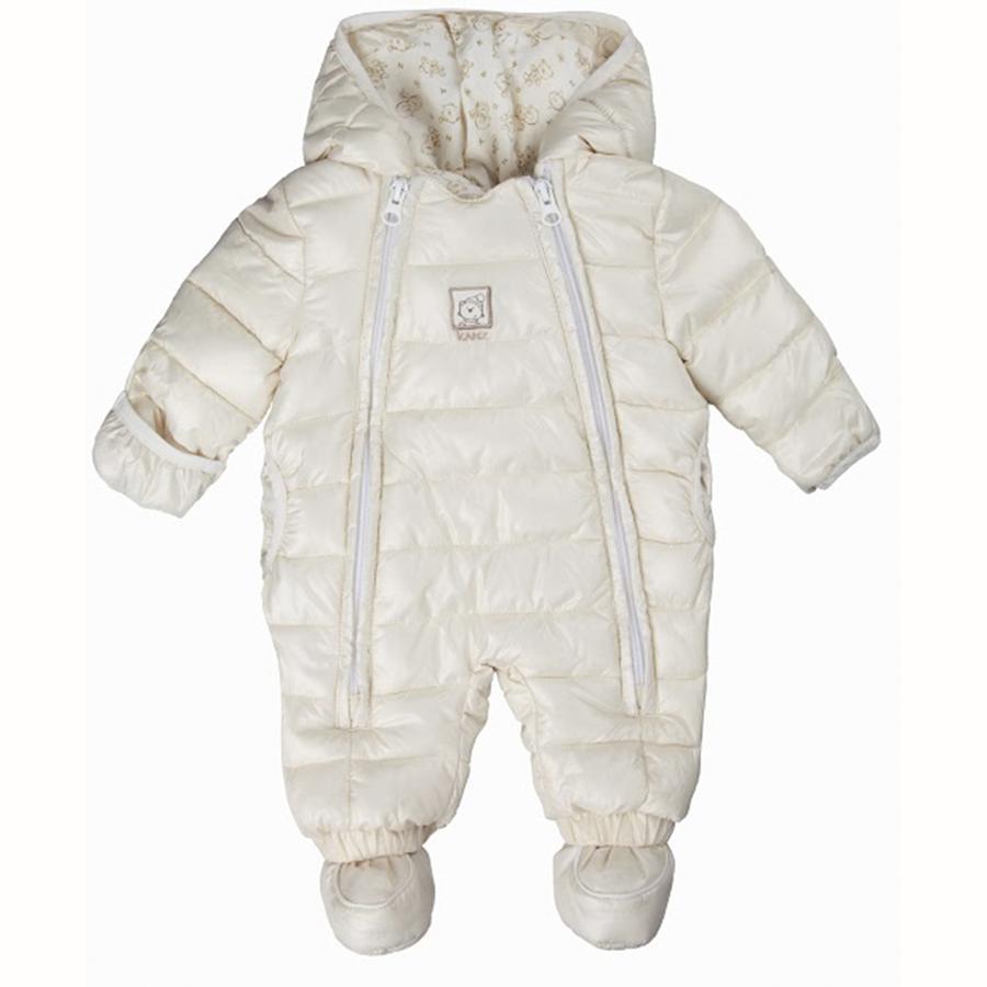 KANZ Baby Tuta da neve, bianca