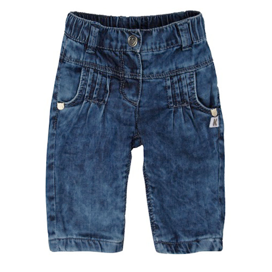 STEIFF Girls Mini Spodnie dżinsowe blue denim