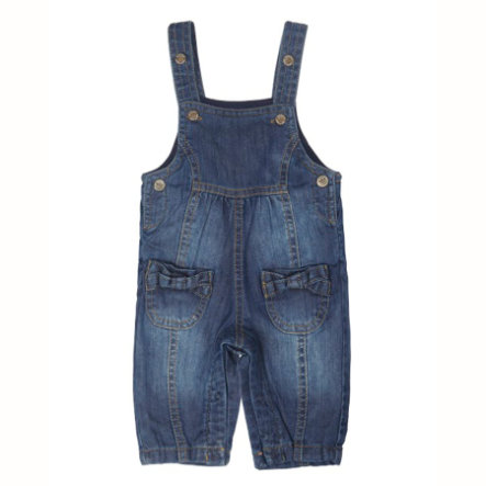 STEIFF Girls Baby Džíny s laclem dark blue denim