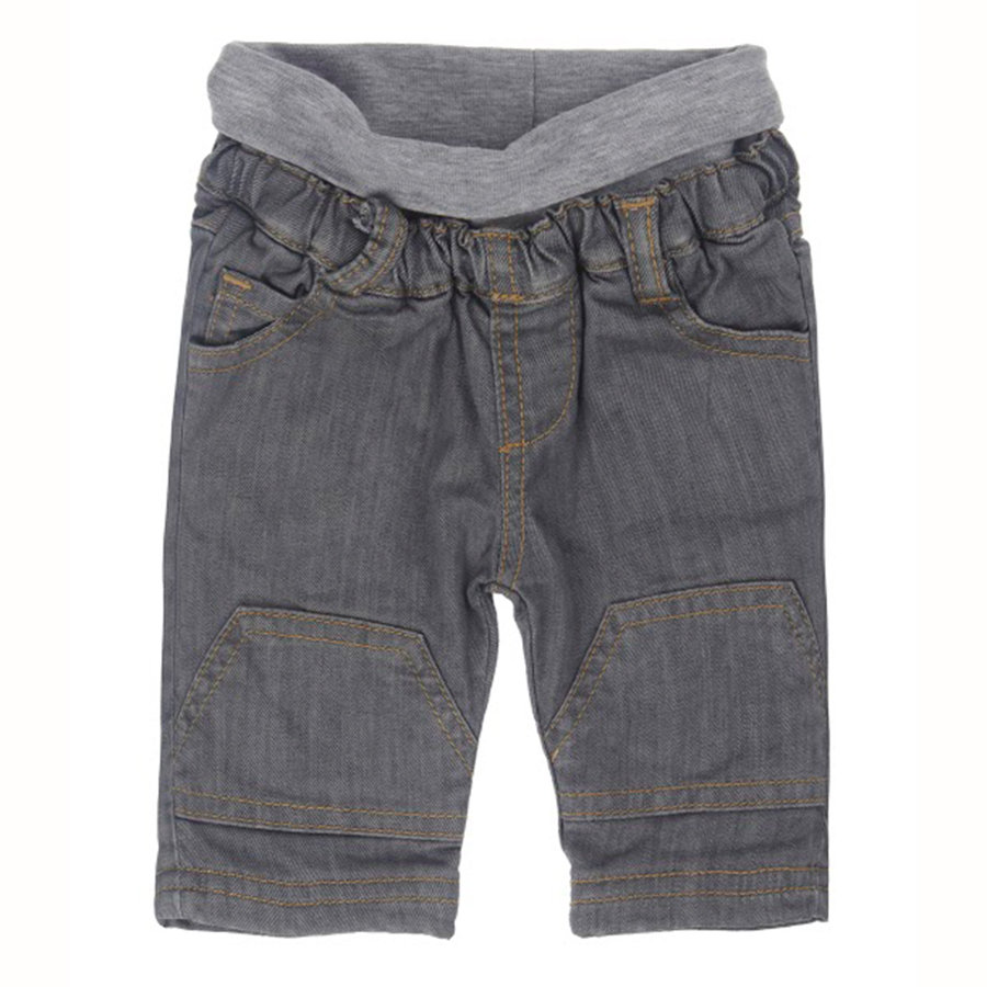 STEIFF Boys Baby Jeanshose grey denim