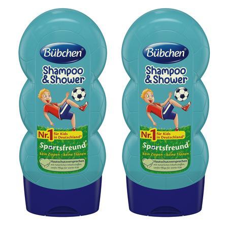 Bübchen Kids Shampoo & Shower Sanfte Sportsfreund 2 x 230 ml