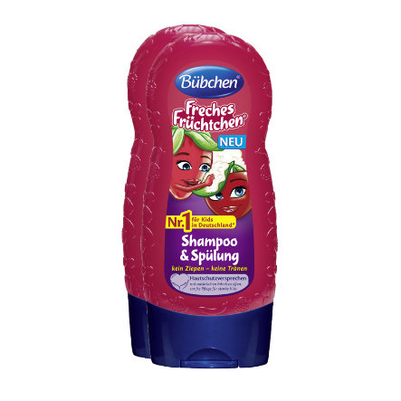 Bübchen Kids Freches Früchtchen Shampoo & Spülung 2x230 ml