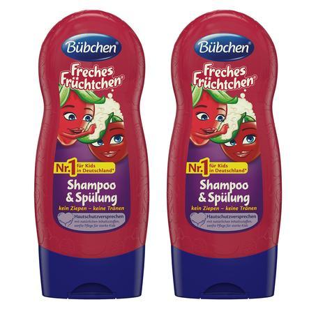 Bübchen Kids Freches Früchtchen Shampoo und Spülung 2 x 230 ml