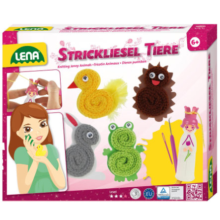 SMG LENA Stick-set - Djur 42374