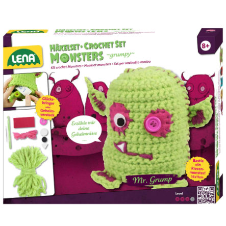 "LENA® Häkelset Die Monsters ""grumpy"", 42524"