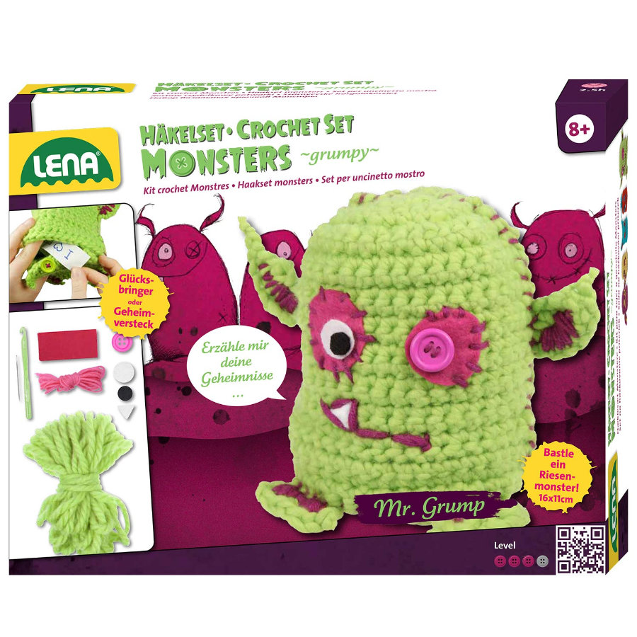 LENA Haakset Monsters ''grumpy'' - 42524