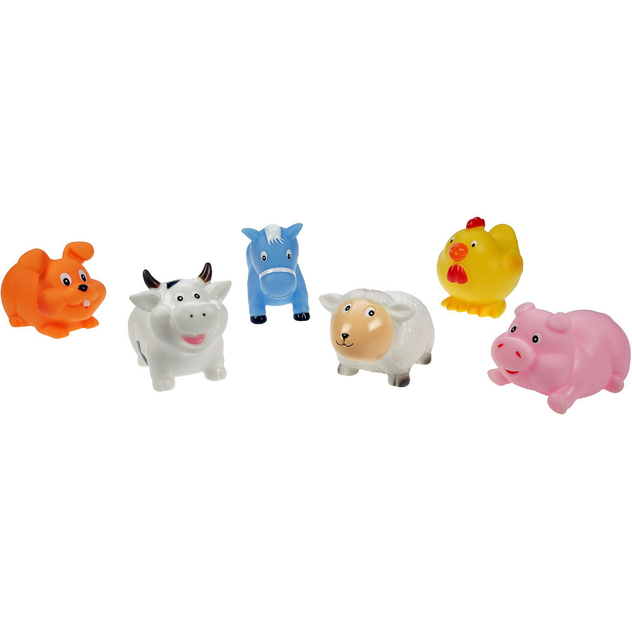 LENA Animaux de bain cracheurs Happy Farm 65523
