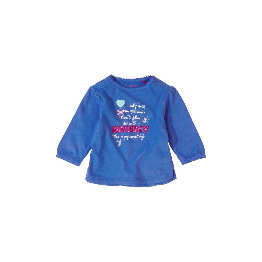 s.OLIVER Girls Baby Longsleeve blue