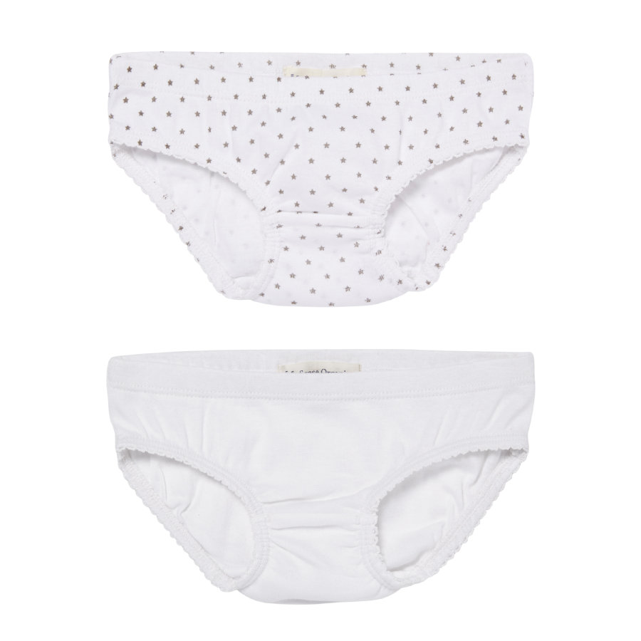 SENSE ORGANICS Girls Mini Slips 2er-Set PARIS