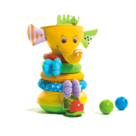 Tiny Love Stapelspiel Musical Stack & Ball Game Elephant