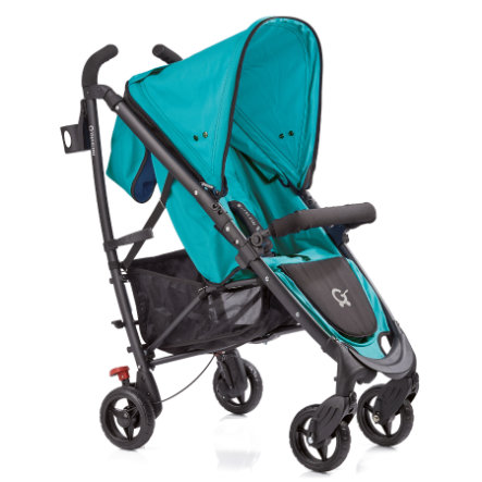 GESSLEIN Buggy S1 Swift Turquoise, Black Frame