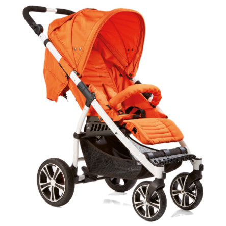 GESSLEIN Sport Buggy S4 Air+ Orange, White Frame