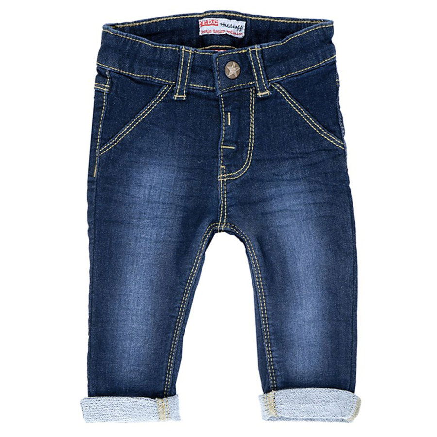 FEETJE Boys Mini Spodnie dżinsowe dark blue denim