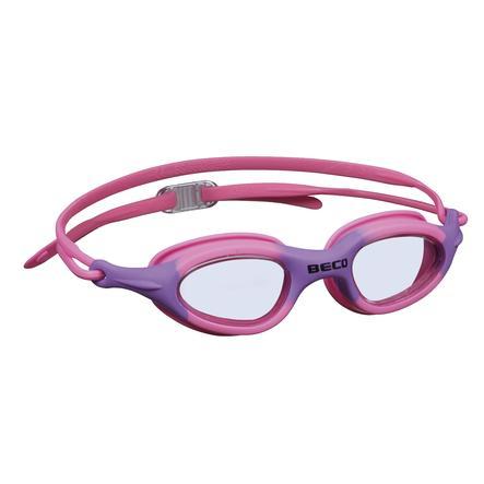 BECO Lunettes de plongée BIARRITZ pour enfants et adolescents, rose/lilas