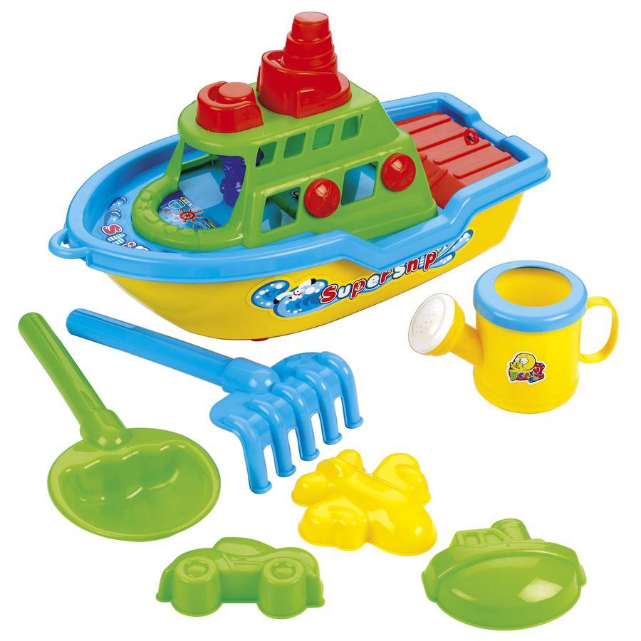 BECO Sandspielzeug-Set Boot