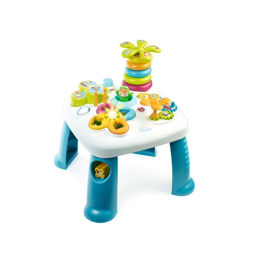 SMOBY Cotoons - Table d'activités, bleu