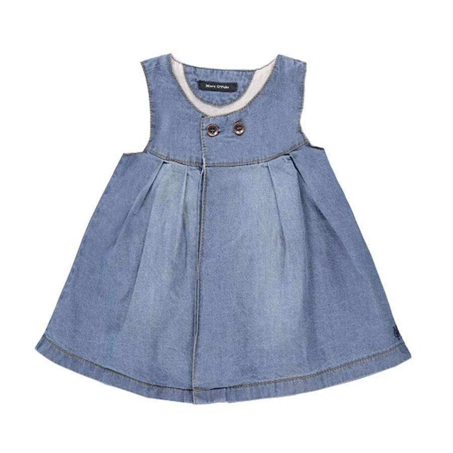 MARC O`POLO Girls Mini Jeanskleid blue denim