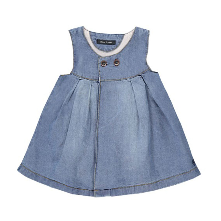 MARC O`POLO Girls Mini Jeanskleid blue denim