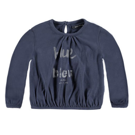 MARC O`POLO Girl 's Mini Longsleeve sfeer indigo