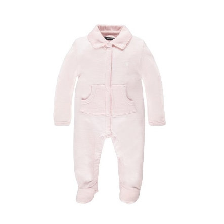 MARC O`POLO Girls Baby Overall lyserød