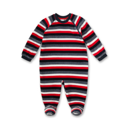 SANETTA Boys Overall red/marine
