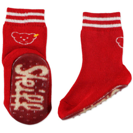 STEIFF Mini Non-Slip Socks red