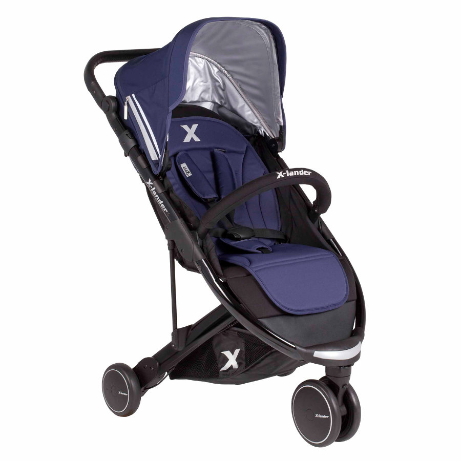 X-Lander Barnvagn X-FIT 14 deep blue