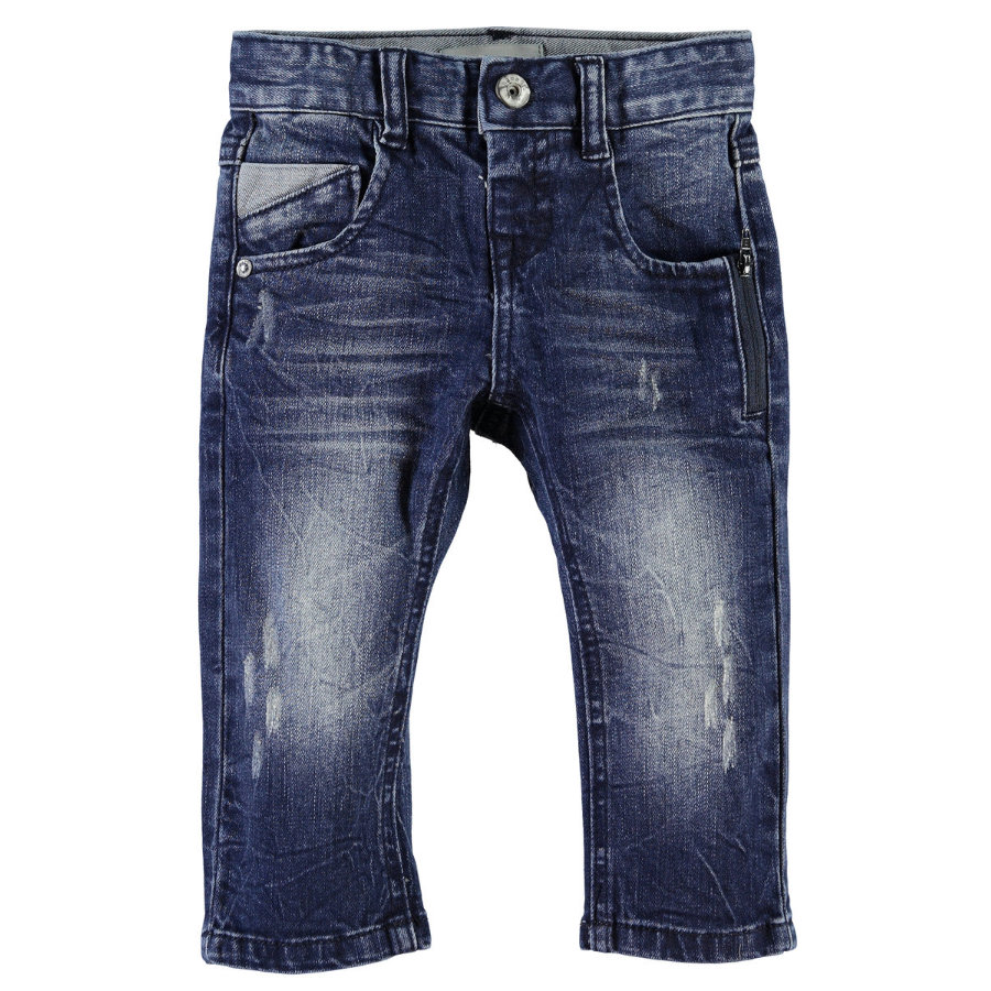 NAME IT Boys Mini Spodnie dżinsowe NITRIO dark denim
