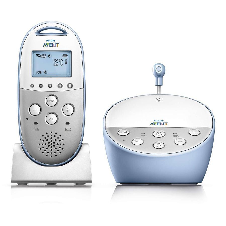 Philips AVENT SCD570/00 DECT Babyvakt med Flex Eco Mode, nattläge