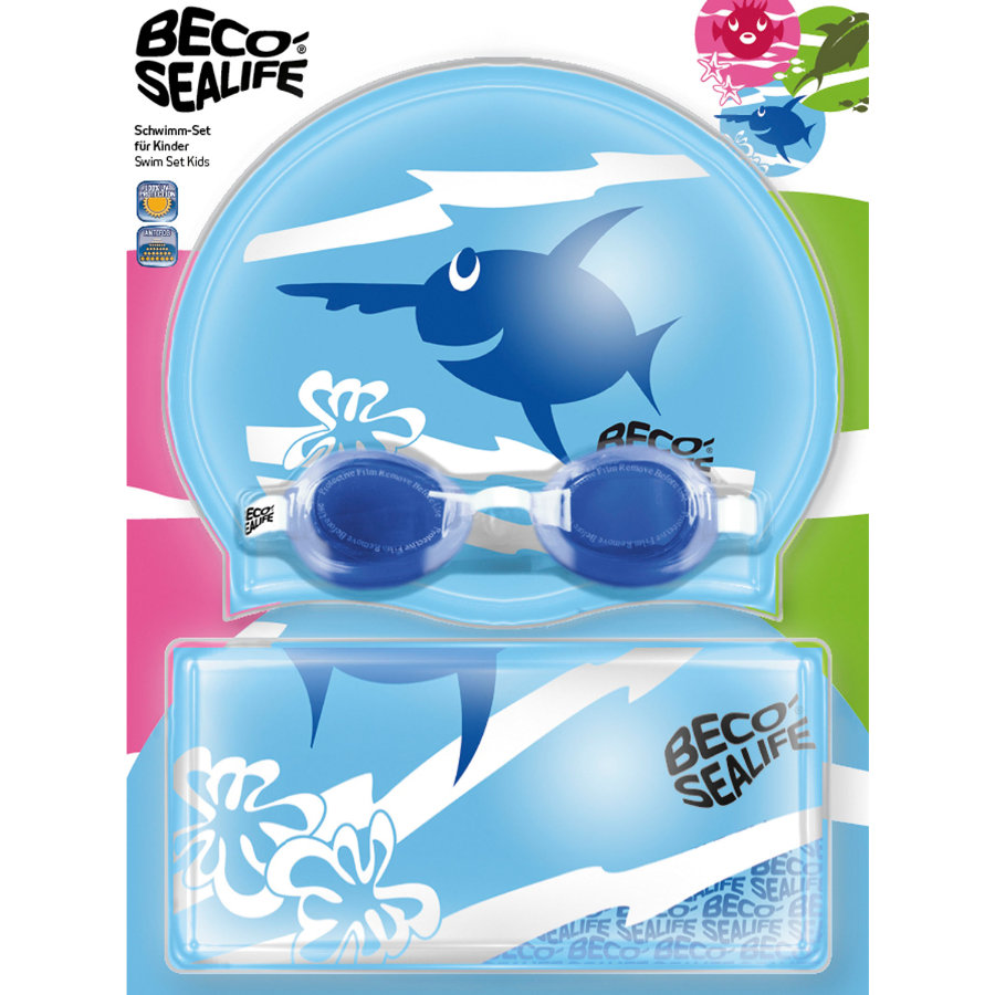 BECO-SEALIFE® Set nuoto II - blu
