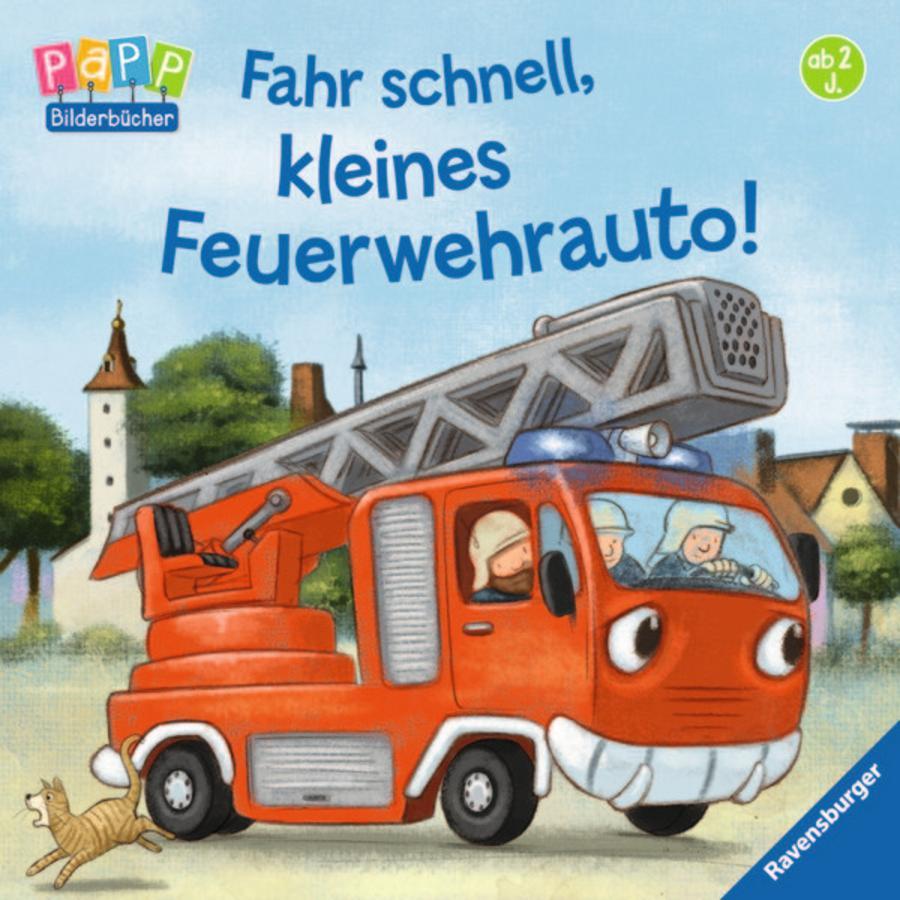 RAVENSBURGER Bilderbuch - Fahr schnell, kleines Feuerwehrauto