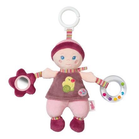 ZAPF CREATION BABY born® for babies Závěsná panenka s aktivitami pro miminka