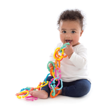 PLAYGRO Barnvagnskedja Loopy Links 40134